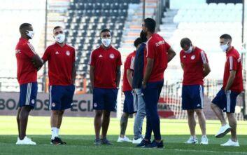 ΠΑΟΚ - Ολυμπιακός: Άφιξη με μάσκες, αντισηπτικά και θερμομέτρηση