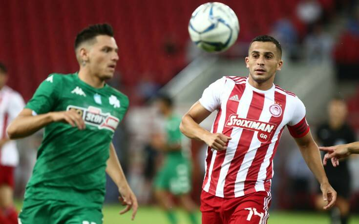 Ολυμπιακός - Παναθηναϊκός: 2-0 ο Ελ Αραμπί στο 21'