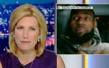 Η δημοσιογράφος που είχε πει στον Λεμπρόν «σκάσε και παίξε μπάσκετ» επανέρχεται με νέα σχόλια