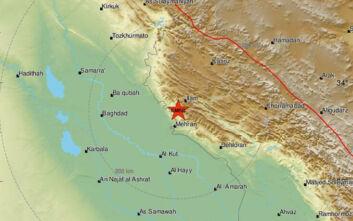 Σεισμός στα σύνορα Ιράκ - Ιράν