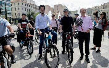 Δύο νέοι μεγάλοι ποδηλατόδρομοι θα κατασκευαστούν στην Αθήνα