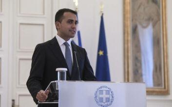 Ντι Μάιο για Ανατολική Μεσόγειο: Η Ιταλία είναι σταθερά αλληλέγγυα σε Ελλάδα και Κύπρο