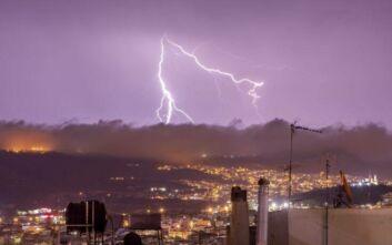 Κακοκαιρία Ιανός: Ισχυρές καταιγίδες πλήττουν Ηλεία και Μεσσηνία