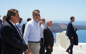 Μήνυμα Μητσοτάκη σε τουρίστες: Ελάτε στην Ελλάδα με ασφάλεια