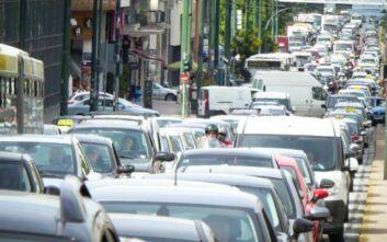 Κίνηση τώρα: Προβλήματα σε Αμαλίας, Πανεπιστημίου και Μεσογείων