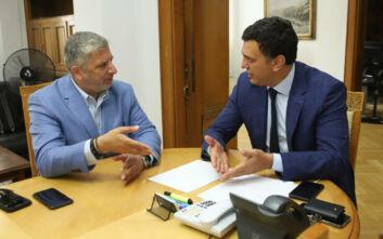 Συνάντηση Κικίλια - Πατούλη: Ηχηρό μήνυμα πως η Ελλάδα είναι ασφαλής προορισμός