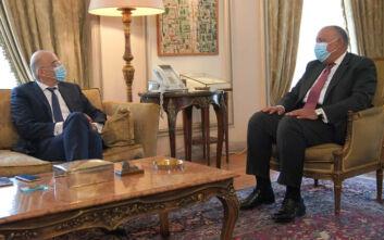 Συνάντηση με τον Αιγύπτιο υπουργό Εξωτερικών θα έχει το απόγευμα ο Νίκος Δένδιας
