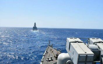 Νέα συνεκπαίδευση ελληνικής φρεγάτας με μονάδες της ΝΑΤΟϊκης ναυτικής δύναμης