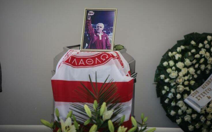 Το ελληνικό ποδόσφαιρο αποχαιρέτησε το Νίκο Αλέφαντο(ΦΩΤΟ)