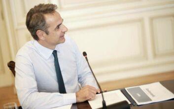 Κυριάκος Μητσοτάκης: Σε εξέλιξη η συνεδρίαση του υπουργικού μέσω τηλεδιάσκεψης