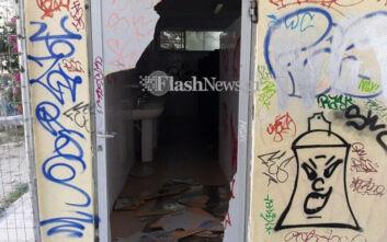 Βανδάλισαν σχολείο στην Κρήτη - Σπασμένες πόρτες και σπρέι στους τοίχους