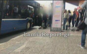 Λαμία: Οδηγός λεωφορείου δέχτηκε επίθεση όταν ζήτησε από επιβάτες να ακυρώσουν εισιτήριο και να βάλουν μάσκα