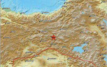 Ισχυρή σεισμική δόνηση στη Ανατολική Τουρκία