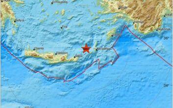 Σεισμός τώρα στα ανοιχτά της Κάσου