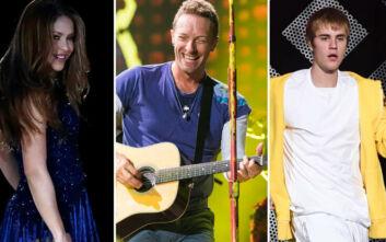 Σακίρα, Coldplay και Τζάστιν Μπίμπερ ενώνουν τις φωνές του για το εμβόλιο κατά του κορονοϊού