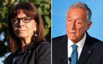 Επικοινωνία Σακελλαροπούλου με τον Πορτογάλο ομόλογό της για τις επιπτώσεις της πανδημίας στην οικονομία