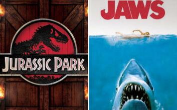 Jurassic Park vs Jaws: Οι ταινίες«κονταροχτυπιούνται» δεκαετίες μετά την πρώτη κυκλοφορία τους