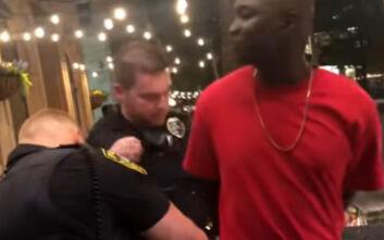 Χαμός στα social media: Η αλήθεια για το βίντεο με τη «σύλληψη Αφροαμερικανού πράκτορα τουFBI»