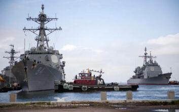 Αμερικανικό πολεμικό έπλευσε σε ύδατα που διεκδικεί η Βενεζουέλα
