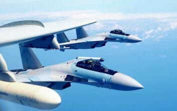 Η Ρωσία σήκωσε μαχητικά για να αναχαιτίσουν δύο αμερικανικά βομβαρδιστικά στον Ειρηνικό