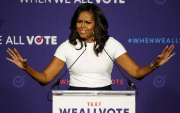 Η Μισέλ Ομπάμα προτρέπει τους νέους «να διοχετεύουν την οργή τους στη δημοκρατία»