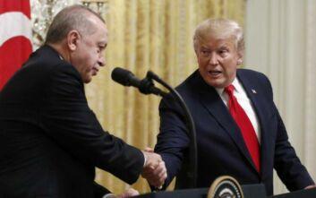 CNN: Ο Ερντογάν τηλεφωνούσε στον Τραμπ έως και δύο φορές την εβδομάδα