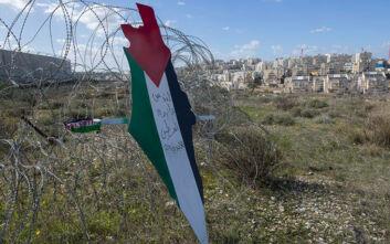 Παλαιστίνη: «Έγκλημα η πρόσαρτηση από το Ισραήλ τμημάτων της Δυτικής Όχθης»