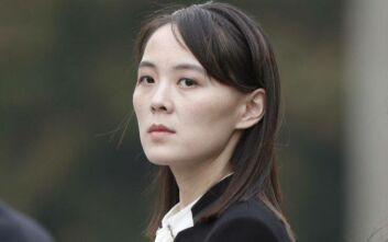 Με αντίποινα προειδοποιεί η αδερφή του Κιμ Γιονγκ Ουν τη Νότια Κορέα για τους αποστάτες