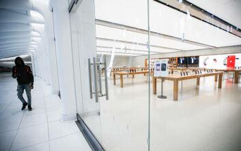 Η Apple κλείνει ξανά καταστήματά της στις ΗΠΑ λόγω κορονοϊού