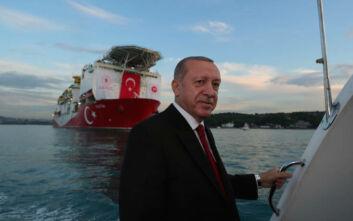 Ο Ερντογάν επιχειρεί να «τορπιλίσει» τον διάλογο - Ξαναβγάζει το Oruc Reis δίπλα στο Καστελόριζο