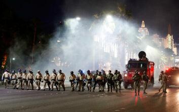 Βγήκαν τα όπλα στις ΗΠΑ: Αστυνομικός τραυματίας από σφαίρα στο Λας Βέγκας