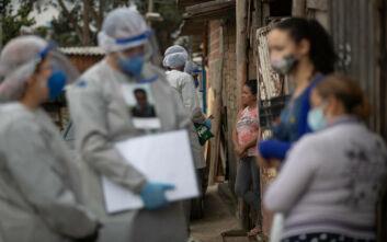 Εμφανής πλέον η καθημερινή μείωση νεκρών και νέων κρουσμάτων στη Βραζιλία