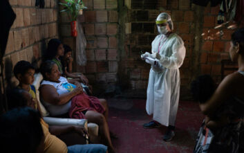 Πάνω από 15.700 κρούσματα και 263 θάνατοι τις προηγούμενες 24 ώρες στη Βραζιλία