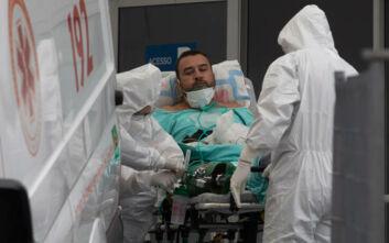 Καταρρέουν και πάλι υπό την πίεση του κορονοϊού νοσοκομεία στη Βραζιλία, ελλείψεις ακόμα και σε οξυγόνο