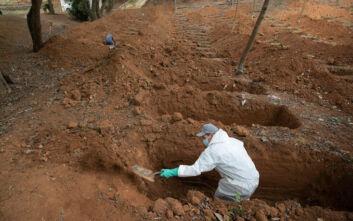 Ξεπέρασαν τους 40.000 οι νεκροί από τον κορονοϊό στη Βραζιλία, οι 1.239 το τελευταίο 24ωρο