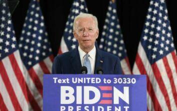 Αντίπαλος του Τραμπ στις προεδρικές εκλογές και τυπικά ο Τζο Μπάιντεν