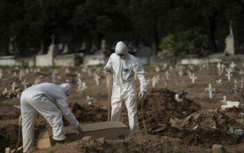 Άλλους 904 θανάτους από κορονοϊό κατέγραψε η Βραζιλία μέσα σε 24 ώρες
