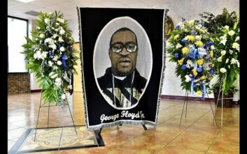 Δολοφονία Τζορτζ Φλόιντ: Επιμνημόσυνη τελετή στην γενέτειρά του στη Βόρεια Καρολίνα
