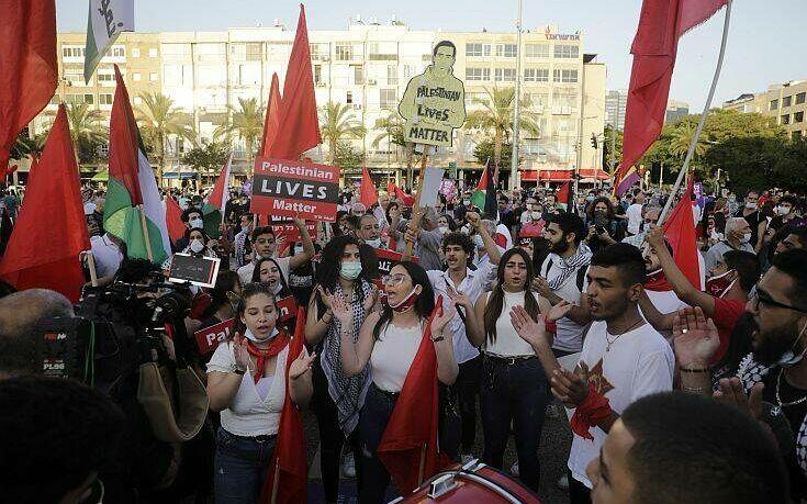 Χιλιάδες Ισραηλινοί διαδήλωσαν ενάντια στο σχέδιο  για προσάρτηση εδαφών της Δυτικής Όχθης