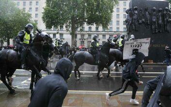 Δολοφονία Τζορτζ Φλόιντ: Επεισόδια σε διαδήλωση στο Λονδίνο