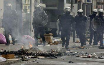 Σοβαρά επεισόδια στις Βρυξέλλες μετά τη λήξη μεγάλης αντιρατσιστικής διαδήλωσης