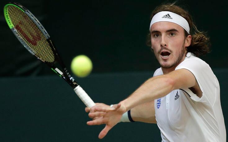 Εύκολη πρόκριση του Τσιτσιπά στους «32» του Roland Garros