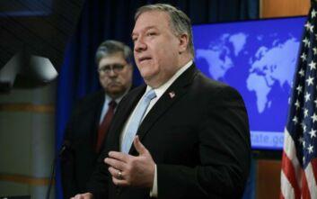 Πομπέο: Κατηγορεί το Συμβούλιο Ανθρωπίνων Δικαιωμάτων του ΟΗΕ για υποκρισία