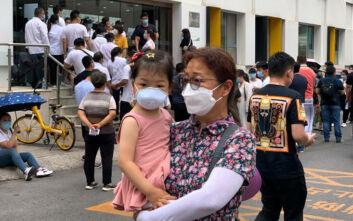 Εννέα κρούσματα μόλυνσης από τον κορονοϊό στο Πεκίνο το τελευταίο 24ωρο