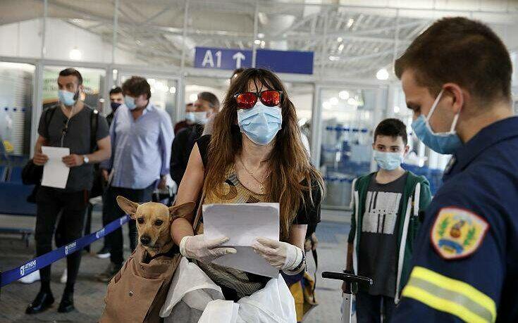 Υποχρεωτική η φόρμα που πρέπει να συμπληρώνουν οι επιβάτες διεθνών πτήσεων προς την Ελλάδα