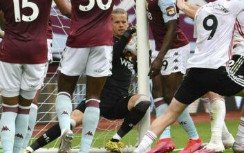 Premier League: Τερματοφύλακας μπήκε με την μπάλα στα δίχτυα και δεν μέτρησε γκολ