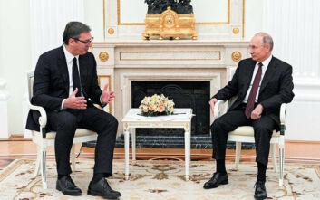 Σερβία: Το ζήτημα του Κοσόβου συζήτησαν Πούτιν και Βούτσιτς στη Μόσχα