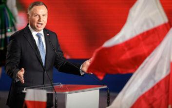 Πολωνία: Ο απερχόμενος συντηρητικός πρόεδρος Ντούντα νικητής στον α' γύρο των εκλογών