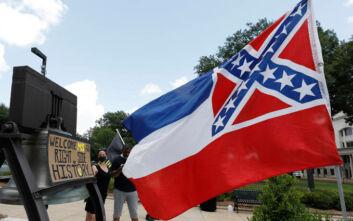 To Μισισίπι ψήφισε για την αφαίρεση του εμβλήματος της Συνομοσπονδίας από τη σημαία του