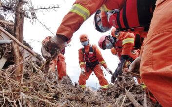 Φονικές πλημμύρες στην Κίνα: Δώδεκα άτομα έχασαν τη ζωή τους